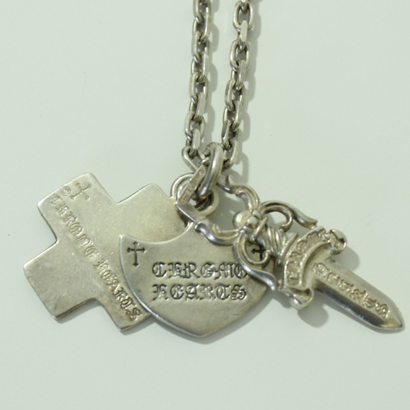 96285dbdc669 Chrome Hearts Other - Chrome Hearts 925 Silver Pendant Charm Necklace 98